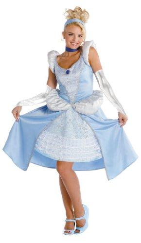 Cinderella Sassy Prestige Adult Costume - Small
