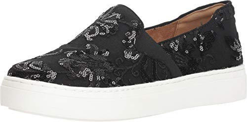 Naturalizer Women's Carly 3 Black Embroidered Lace 8.5 M US