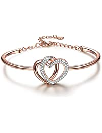Heart Bracelets as ❤Christmas Jewelry Gifts❤ 6.10 Inches...