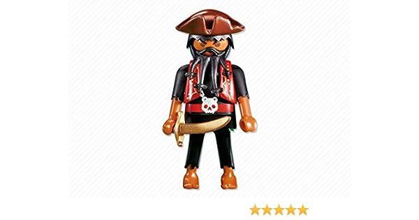PLAYMOBIL 7380 Capitán del Pirata: Amazon.es: Juguetes y juegos