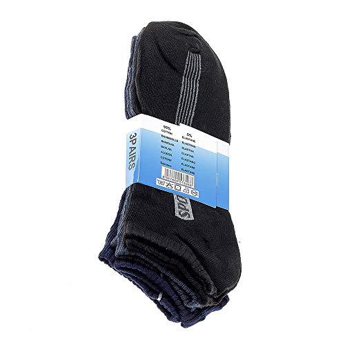 40 1 Sport 103 Motif E Courtes Active Chaussettes Des Court 3 1004 Chaussettes Lot Avec 43 e Respirant Hommes Rayures De 100 qaFRf
