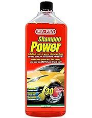 Mafra, Shampoo Power, zelfontvettende en geconcentreerde reiniger, gemakkelijk te spoelen, laat geen resten achter en lichtplaatsen in het formaat van 30 wasbeurten.