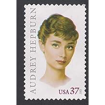 Audrey Hepburn Legend of Hollywood Single 37c US Postage Stamp Scott 3786