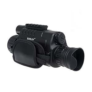 """Blueskysea WG-37 5 Megapixels 5x40 Noche Digital Vision Monocular Gen 2 + 200m Fotos y cámara de vídeo cámara DVR 1.44 """""""