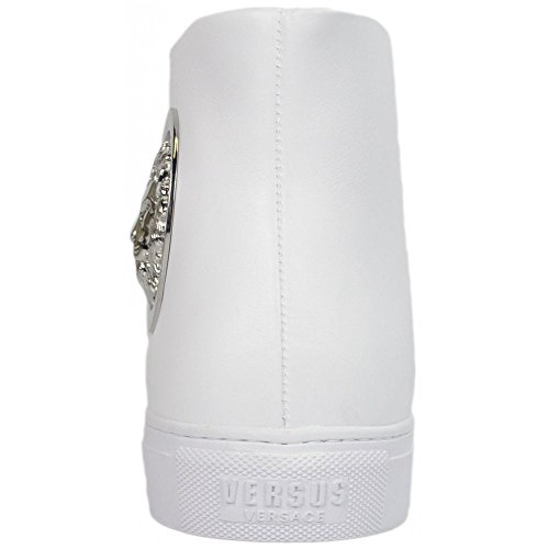 Versace, Sneaker Uomo Bianco White White