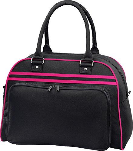 Bagbase Bag Bowling Black Fuchsia Retro 8CqvxwXgq