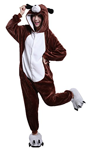 Joygown Unisex Adult Pajamas One Piece Sleepwear Halloween