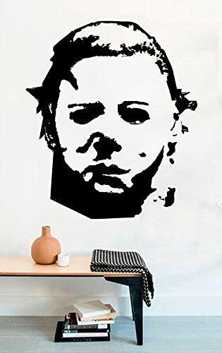 Michael Myers Dead Horror Vinyl Wall Decals Halloween