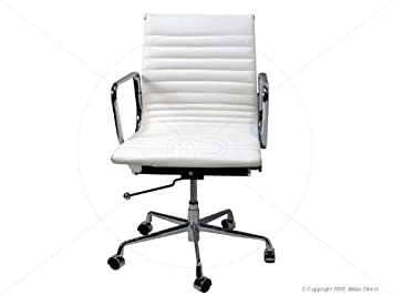 Best White Leather Office Chair Modern Contemporary Amazing Home