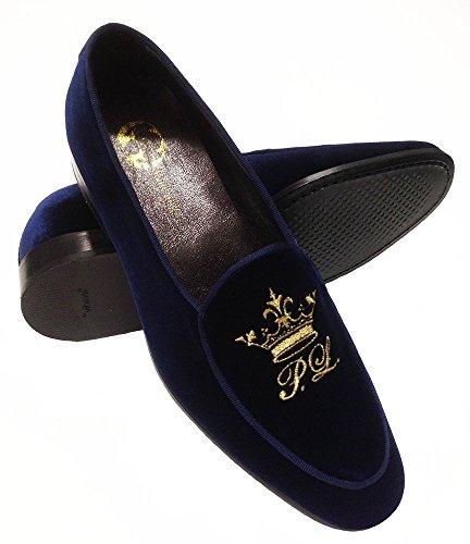 Garofalo Gianbattista mocassini uomo slippers con ricamo personalizzato