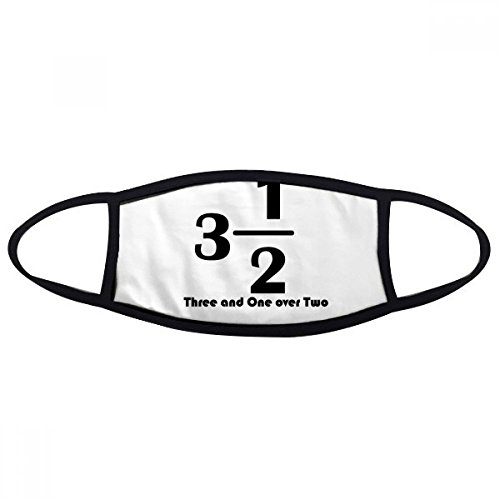 DIYthinker Numerical Three And One Over Two Face Anti-dust Mask Anti Cold Maske Gift ()