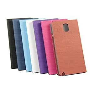 Wood Grain Full Body Leather Case with Card Slot for Samsung Galaxy Note 3 N9000 (Assorted Colors) , Rose