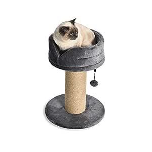 AmazonBasics - Torre en árbol con poste rascador y cama en ...
