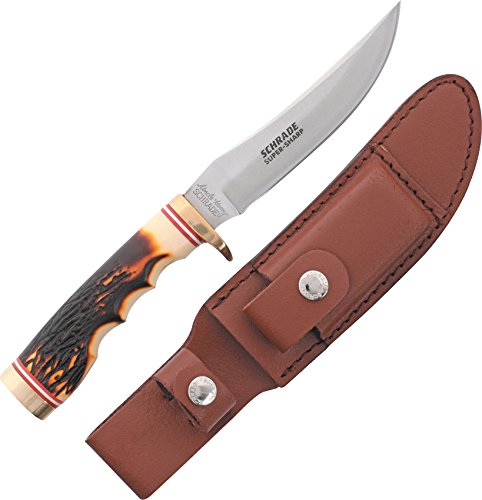 Uncle Henry 153UH Golden Spike Rat Tail Tang Fixed Blade Knife