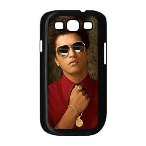 Samsung Galaxy S3 I9300 2D Custom Hard Back Durable Phone Case with Bruno Mars Image