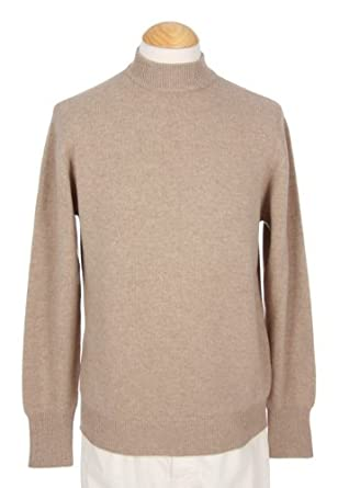 Shephe Men's 4 Ply Mock Turtleneck Cashmere Sweater at Amazon ...