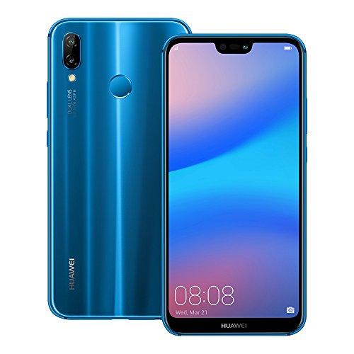 Huawei nova 3e (ANE-LX2J) 4GB/64GB 5.84-inches Factory Unlocked - International Stock No Warranty (Klein Blue)