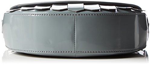 BREE Damen Brigitte 26 Umhängetaschen, 24x20x7 cm Grau (Oyster 960)