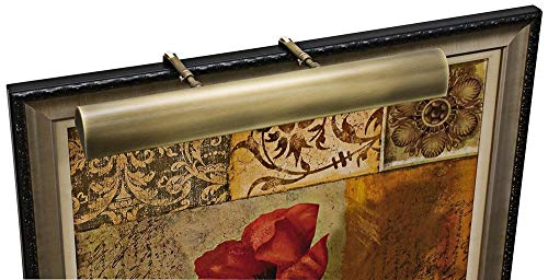"House of Troy T24-71 Traditional Picture Light, 24"", Antique Brass"