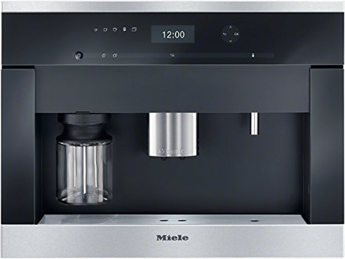 Miele CVA 6405 Einbau-Kaffeevollautomat mit Bohnenmahlwerk, edelstahl