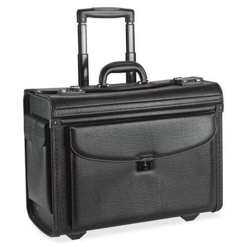 (Wholesale CASE of 3 - Lorell Rolling Laptop Catalog Case-Rolling Laptop Catalog Case, 18