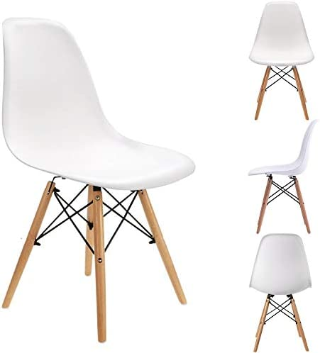 ExAchat Set of 4 Eames Style Chair