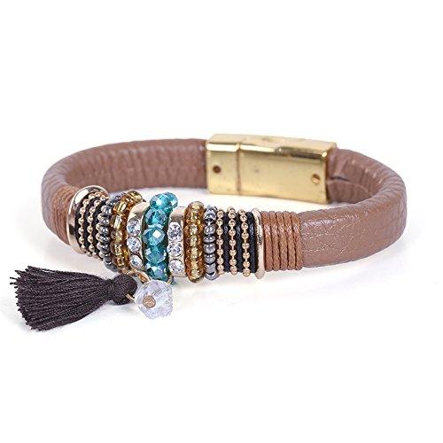 Cherry Bracelets for Women, Unisex Bracelets, Fashionable Bracelets, Magnetic Bracelet Clasps, Fancy Bracelets, Bonus Organza Bag (Kings Ransom)