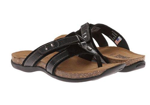 Kalso Earth Women's Presto Espadrille Sandal,Black,7 M US