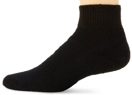 Thorlos Padded Walking Low Cut Sock Black L