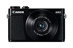 Canon Powershot G9 X Digital Camera With 3x Optical Zoom, Built-in Wi-fi & 3 Inch Lcd (Black)