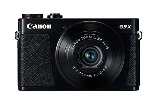 Canon PowerShot G9 X Digital Camera with 3x Optical Zoom, Built-in Wi-Fi and 3 inch LCD (Black) by Canon