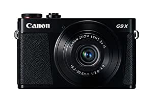 Canon PowerShot G9 X Digital Camera with 3x Optical Zoom, Built-in Wi-Fi and 3 inch LCD (Black)