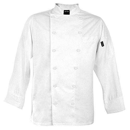 100 cotton chef coat - 9