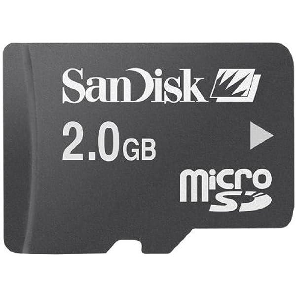 Amazon.com: Sandisk microSD 2GB memory card: Computers ...