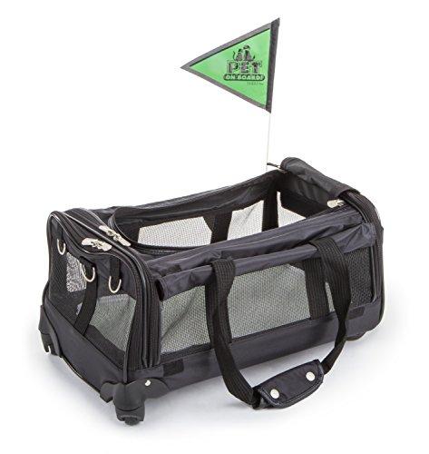 Sherpa-on-Wheels-Pet-Carrier-Black