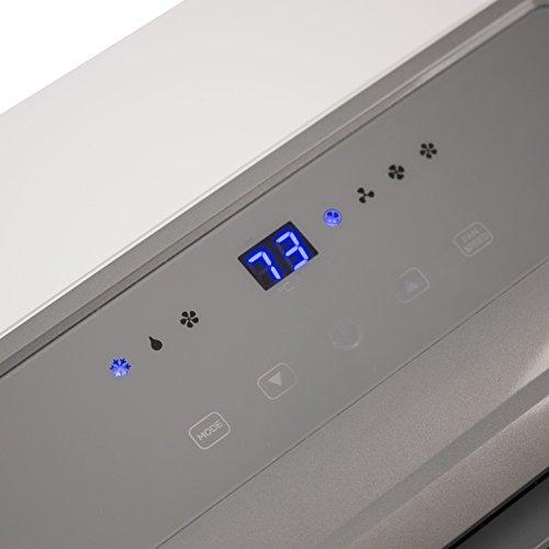 BLACK BTU Portable Conditioner Unit, Remote, LED Display, Window Vent Kit,