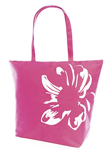 Beach Pink Shopping Large Swim Tote Motif Pool Womens Bag Floral Summer BtwP4P