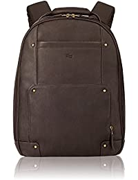 Reade 15.6 Inch Vintage Columbian Leather Backpack, Brown