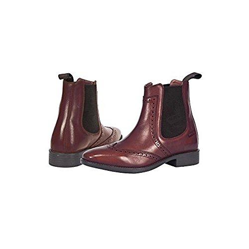 D'Équitation Homme Chaussures Pour Toggi Marron Bordeaux fq5wO