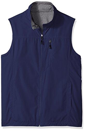 Reversible Mens Vest - IZOD Men's Reversible Vest, Peacoat, X-Large