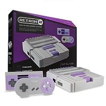 Hyperkin RetroN 2 Gaming Console for Nintendo SNES/ NES - Gray