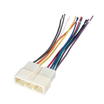 41WkXxizGCL._SY355_ amazon com car stereo wire harness adapter plug for acura honda  at virtualis.co