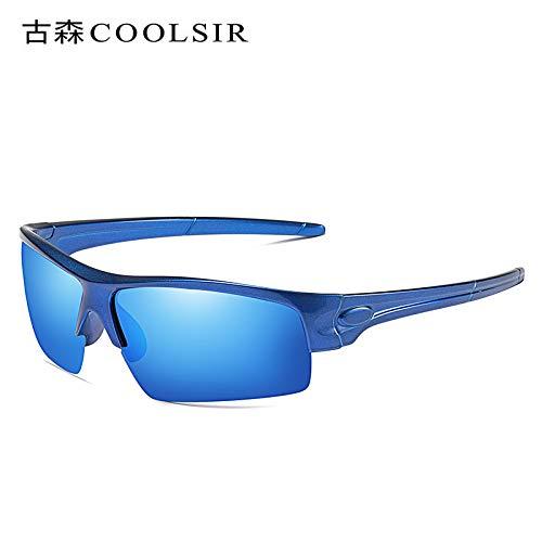 de Libre nbsp;Colores sunglasses Sol de Aire Mjia Deportivas frame Marco Hombre Gafas Gafas Rojo de Espejo Deportes al nbsp;polarizadas 1 Montar polarizados Blue agTgwdOxq