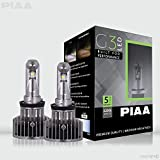 PIAA 26-17411 G3 H11 LED Bulb (6200K 12/24V 23W Twin Pack)