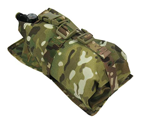 tactic.world Air Tanks Pouch Bag M.O.L.L.E Vertical Cylinder Ninja (0,8-1,8L) 35ci 48ci 50ci 68ci (Multicam) ()