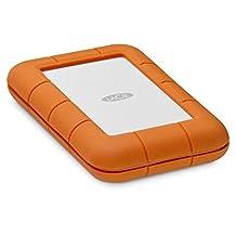 LaCie Rugged Thunderbolt USB-C 2TB Portable Hard Drive STFS2000800