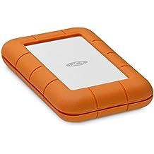 LaCie Rugged 2TB Thunderbolt USB-C Portable Hard Drive + 1mo Adobe CC All Apps (STFS2000800)