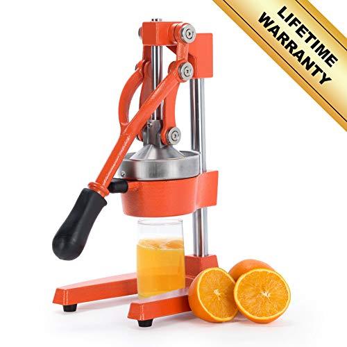CO-Z Commercial Grade Citrus Juicer Hand Press Manual Fruit Juicer Juice Squeezer Citrus Orange Lemon Pomegranate -