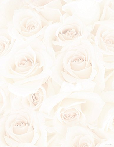 Great Papers! Blush Roses Letterhead, 80 Count, 8.5