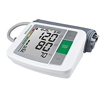 Medisana BU 510 Oberarm-Blutdruckmessgerät ohne Kabel, Arrhythmie-Anzeige, WHO-Ampel-Farbskala, für präzise Blutdruckmessung und Pulsmessung mit Speicherfunktion 1